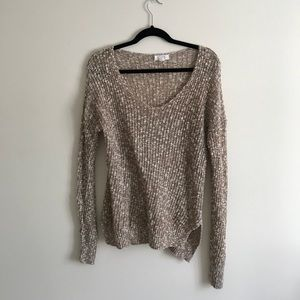 SUN&SHADOW Camel Sweater